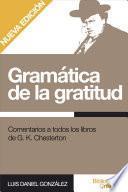 Gramática de la gratitud