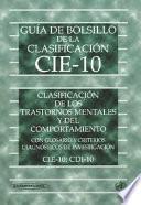 Guía de Bolsillo de la Clasificación CIE-10