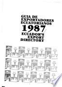 Guía de exportadores ecuatorianos