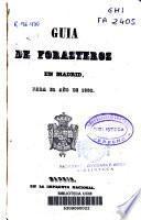 Guía de forasteros en Madrid para el año de 1856