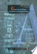 Guía de las letras y autores contemporáneos