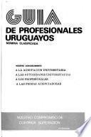 Guía de profesionales uruguayos