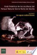 Guia Didactica de los acuiferos del Parque Natural Sierra Norte de Sevilla