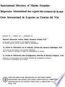Guía Internacional de Expertos en Ciencias Del Mar