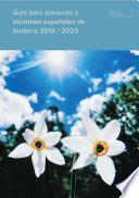 Guía para asesores y docentes españoles en Andorra 2019 / 2020