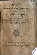 Guia patriótica de España para el año de 1811