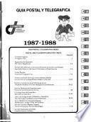 Guía postal y telegráfica