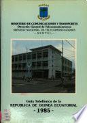 Guía telefónica de la República de Guinea Ecuatorial