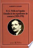 H.G. Wells en España