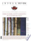 Harri eta berri: nuevos horizontes de la literatura vasca (Ínsula n° 883-884)
