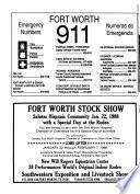 Hispanic Telephone Directory, Fort Worth/Tarrant County