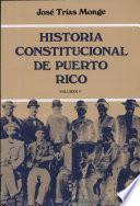 Historia constitucional de Puerto Rico