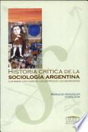 Historia crítica de la sociología argentina