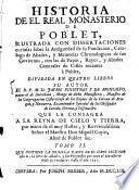 Historia De El Real Monasterio De Poblet