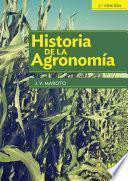 Historia de la agronomía