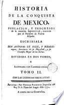 Historia de la conquista de Mexico, 2