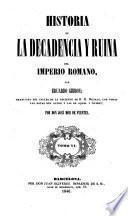 Historia de la Decadencia y Ruina del Imperio Romano