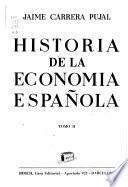 Historia de la economía española