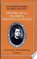 Historia de la filosofía cristiana en México