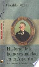 Historia de la homosexualidad en la Argentina