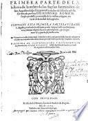 Historia de la orden de los Frayles hermitanos de sant Augustin, obispo Hypponense