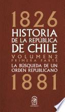 Historia de la República de Chile
