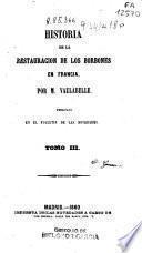 Historia de la Restauración de los Borbones en Francia