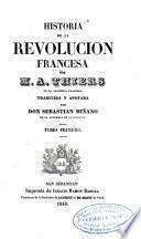 Historia de la revolucion francesca ...