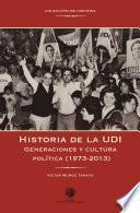 Historia de la UDI