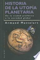 Historia de la utopía planetaria