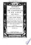 Historia de los reyes de Castilla y de Leon
