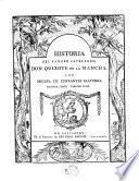 Historia del famoso cavallero don Quixote de la Mancha,2