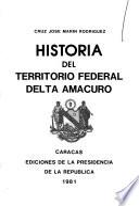 Historia del territorio federal Delta Amacuro