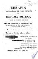 Historia política y bases de un buen gobierno (...)