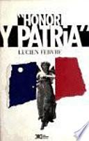 Honor y patria