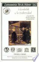 Humboldt y la modernidad
