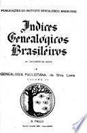 Indices genealógicos brasileiros
