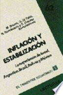 Inflación y estabilización