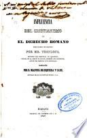 Influencia del Cristianismo en el derecho romano