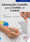 Información contable para la gestión y su control