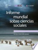 Informe mundial sobre ciencias sociales, 2013