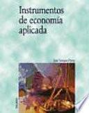 Instrumentos de economía aplicada