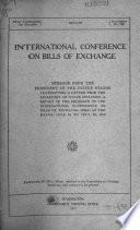 International Conference on Bills of Exchange