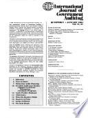 International Journal of Government Auditing