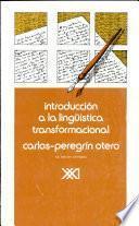 Introducción a la lingüística transformacional