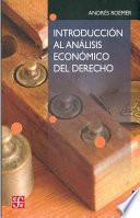 Introducción al análisis económico del derecho