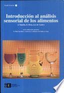 Introducción al análisis sensorial de los alimentos