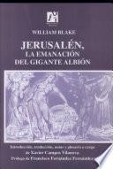Jerusalén, la emanación del gigante Albión