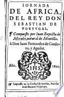 Jornada de África del Rey Don Sebastian de Portugal