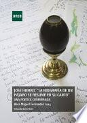 JOSÉ HIERRO: LA BIOGRAFÍA DE UN PÁJARO DE RESUME EN SU CANTO UNA POÉTICA CONFIRMADA